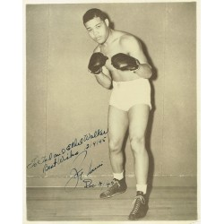 Joe Louis genuine authentic signed autographs