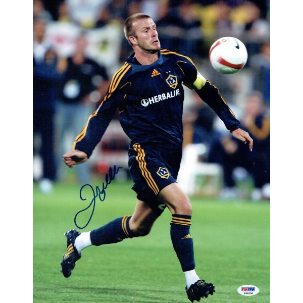 David Beckham  original authentic genuine signed photo