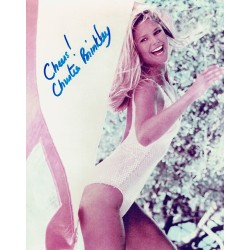 Christie Brinkley authentic signed genuine signature