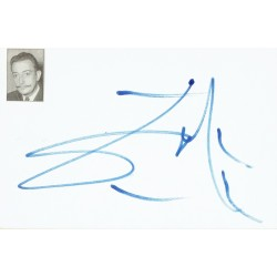 Salvador Dali  authentic signed genuine signature