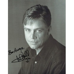 Star wars Mark Hamill original authentic genuine signed photo
