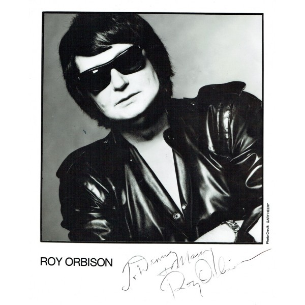 Roy Orbison genuine authentic signed autographs
