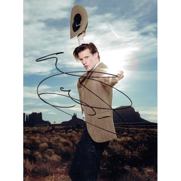 Matt Smith  authentic genuine autograph signed photo