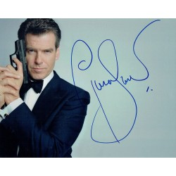 Pierce Brosnan genuine authentic signed autographs
