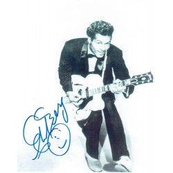 Chuck Berry  original authentic genuine autograph signed