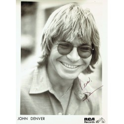 John Denver genuine authentic signed autograph signatures photo