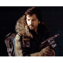 Diego Luna Star wars original authentic genuine signed photo