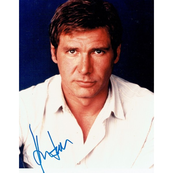 Harrison Ford  original authentic genuine autograph signed photo