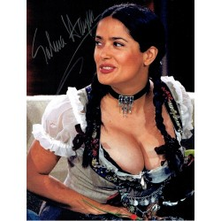 Salma Hayek genuine authentic signed autograph signatures photo