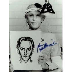 John Malkovich original authentic genuine autograph signed photo