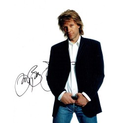 Jon Bon Jovi  signed authentic genuine signature