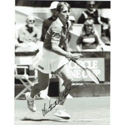 Martina Navratilova original authentic genuine signed photo