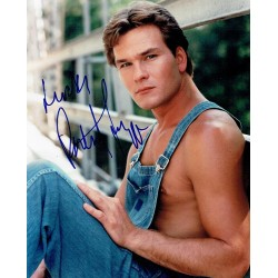 Patrick Swayze original authentic genuine signed photo